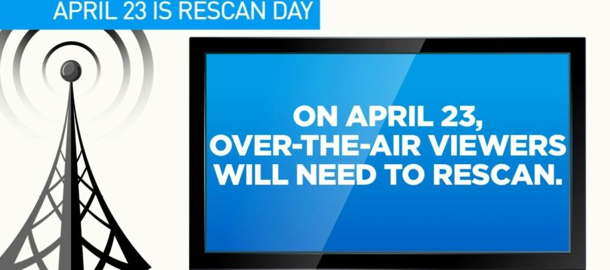 Rescan Day – April 23, 2018