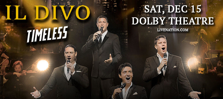 2018 KLCS Il Divo Timless Giveaway Winners