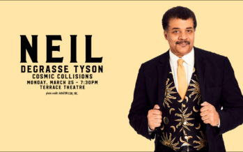 2019 Neil Degrasse Tyson – Cosmic Collisions Concert Ticket Giveaway
