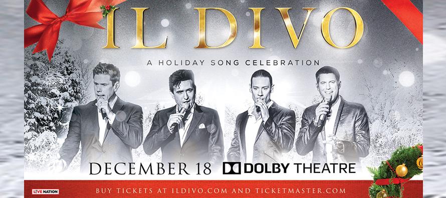 2019 II Divo Concert Giveaway