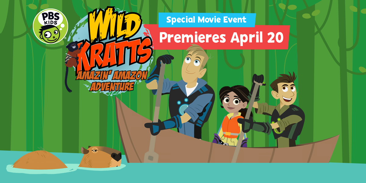 WILD KRATTS AMAZIN' AMAZON ADVENTURE
